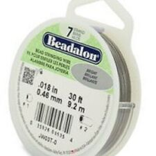 "Beadalon Beading Wire 7 strand and 49 Strand .012/"" .015/"" /& .018/"""