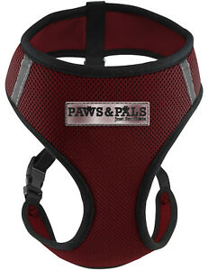 Pet Control Harness Small Cat Dog Soft Red Mesh Walk Collar Safety Strap Vest