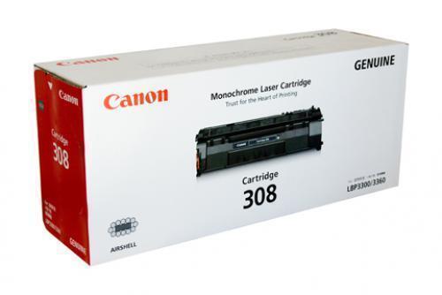 Genuine Canon 308 Black Toner Cartridge