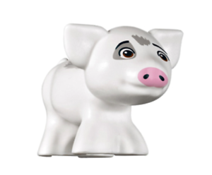 Lego Friends Princess Moana /& Pig Pua from 41149 mini figures
