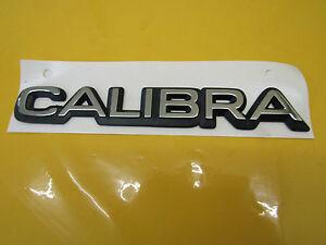 Emblem-Schriftzug-CALIBRA-chrom-schwarz-Calibra-ORIGINAL-OPEL-177695