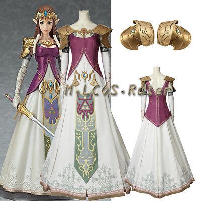 The Legend Of Zelda Twilight Princess Princess Zelda Cosplay Costume Customized Ebay