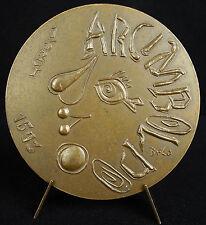 Médaille à Antoine de Saint-Exupéry sc Galtié 87mm Concorde aviation 438 g medal