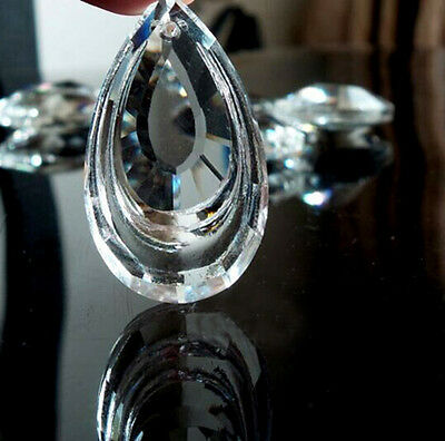 Rainbow Chandelier Glass K9 Crystals Lamp Lighting Prisms Parts Hanging Pendants
