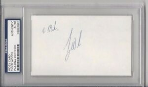 TIGER-WOODS-Signed-3-x-5-Index-Card-Authenticated-amp-Slabbed-by-PSA