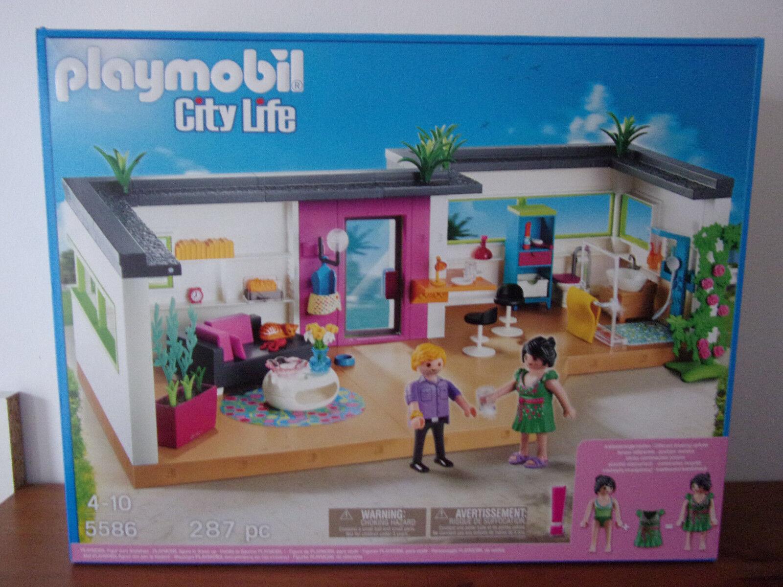 Playmobil City Life 5586 Gästebungalow - - - Neu & OVP 1386cc