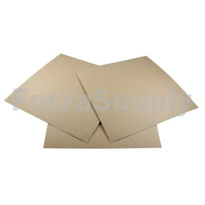 """100 Pack of 12x12/"""" Square Chipboard Pads THICK Sturdy 30PT .030 Scrapbook Sheets"""