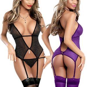 lingerie sexy violet