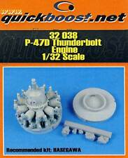 Quickboost P-47D Thunderbolt Engine Motor für Revell Hasegawa 1:32 TIPP 47 D kit