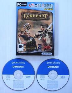 Jeu-PC-Lionheart-Legacy-of-the-Crusader-tres-bon-etat-sans-notice