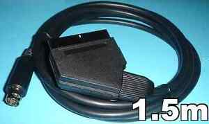 US-seller-Genesis-2-32X-CDX-RGB-SCART-cable-with-Csync-no-jailbars