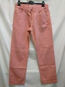 official photos 64b76 fc7f3 Details about jeans Murphy & Nye uomo estivo 58% cotone 42% lino size 33  taglia 46/47