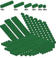 Lego - Bricksy's Bascis - Green - A46 - Basicsteine grün - schmal - 40Stk 1x1; 6