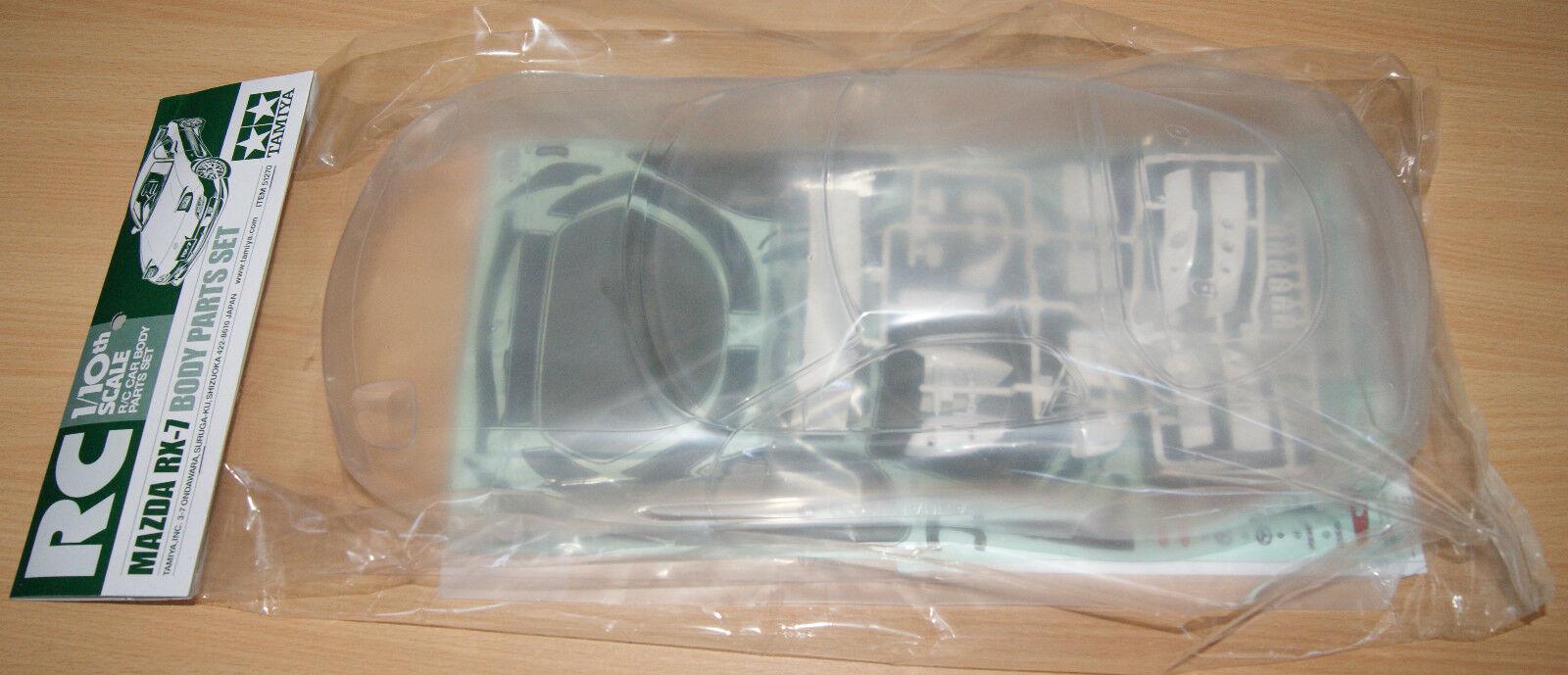 Tamiya 51270 Mazda RX-7 Body Parts Set (TT01 TT02D TT01E TT02 TT02D), NIP