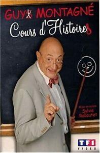 GUY MONTAGNÉ - COURS D'HISTOIRES - 2007 - DVD - NEUF NEW NEU