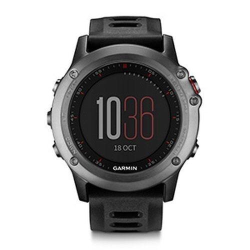 Garmin Fenix 3 Multi-Sport Training GPS/GLONASS Fitness Watch – Gray/Black low price