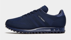 adidas la trainer blu navy