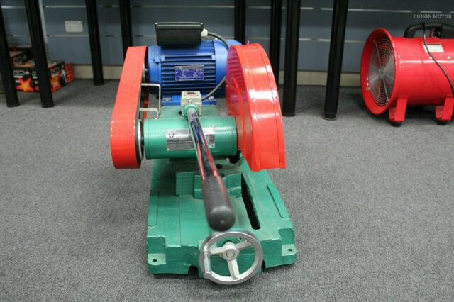 "METAL CUT-OFF CUTTING CHOP SAW 16"" DISC 2.2KW 3HP SINGLE PHASE DROP SAW 400mm 1"""