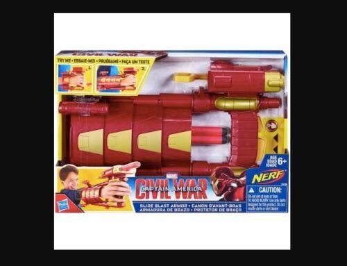 Marvel Captain America guerre civile Diapositive Blast Armor-Iron Man-NEUF