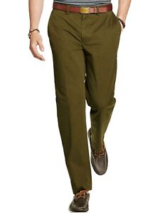 Polo-Ralph-Lauren-Mens-Big-amp-Tall-Stretch-Classic-Fit-Chino-Pants-Olive-44-x-38