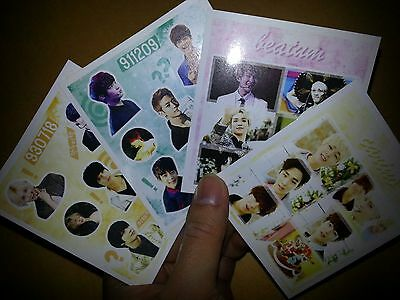 SHINEE stickers #2, Total 55 Sheet - SM TOWN juliet KPOP TAEMIN - yg jyp exo~