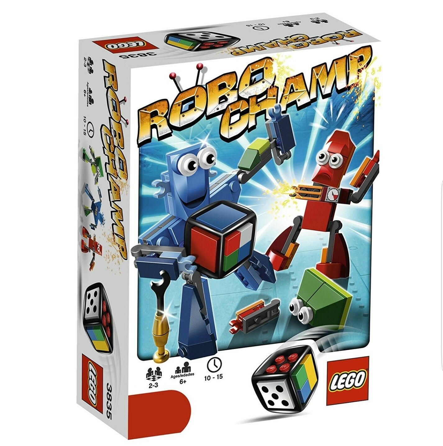 LEGO Games 3835 Robo Champ BRAND NEW SHRINK WRAPPED