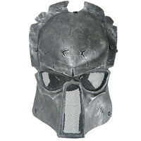Predator Mask Wolf 6.0 Full Face Airsoft Paintball Mesh Eyes Protection Tactical