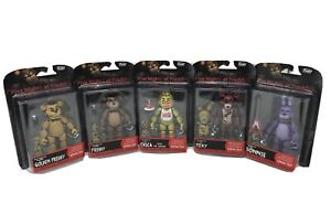 Funko-FIVE-NIGHTS-AT-FREDDY-039-S-Springtrap-SET-of-5-Articulated-Action-Figures