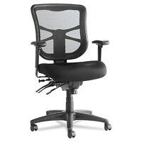 Alera Elusion Series Mesh Mid-Back Multifunction Chair Black EL42ME10B