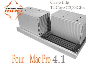 Carte-fille-Tray-12-Core-3-33-Ghz-pour-Mac-Pro-4-1-4-8-Core-Only-2009