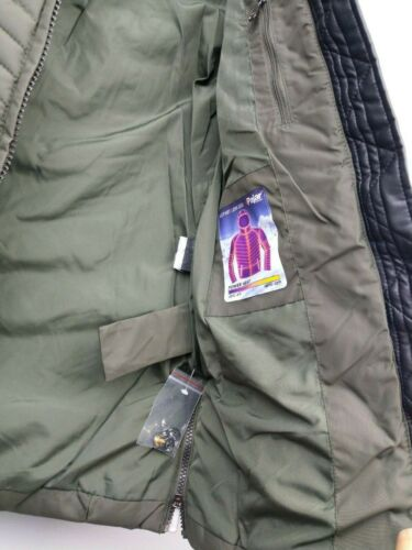 PAJAR CANADA Parka Girls 7-8 Chelsea Military Green Faux Fur Hood Puffer Coat