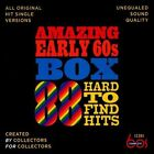 Amazing Early 60s Box: 88 Hard-to-Find Hits [Box] by Various Artists (CD, Nov-2013, 3 Discs, Complete 60s)