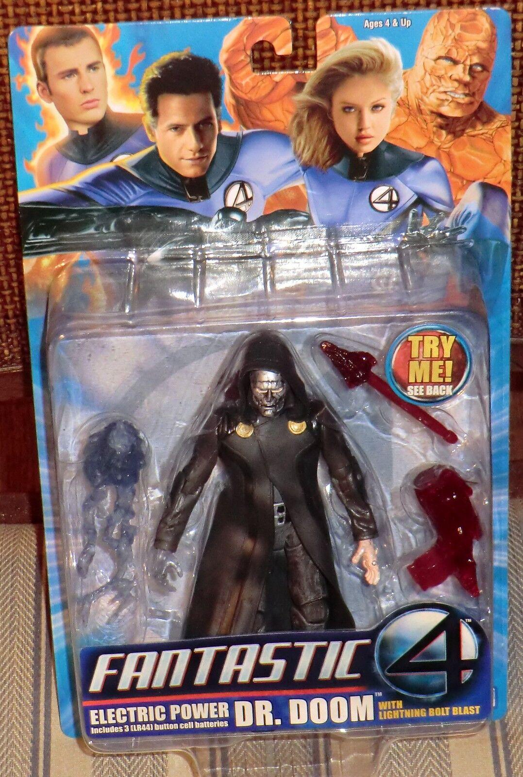 Marvel Los Cuatro Fantásticos energía eléctrica Doctor Doom Moc