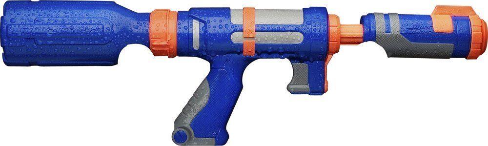 Totalmente nuevo bombardeo de Nerf Super Madurador Botella de Agua Pistola Blaster Azul