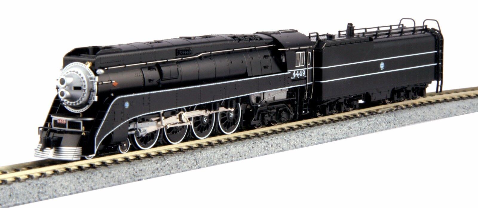 compras en linea Escala N 4-8-4 GS-4 BNSF Negro    4449 (Negro) - Kato  126-0312 Excursión  gran selección y entrega rápida