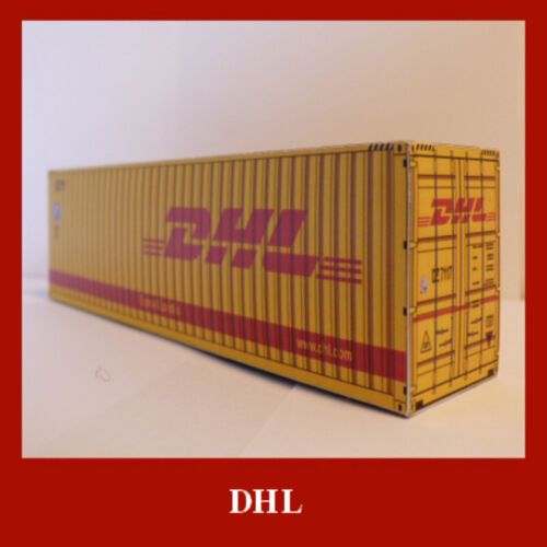 Freight Cargo Shipping Card Kits 20//40//48//53ft x 15 Some Pre-Weathered HO Gauge