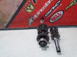 2009 KAWASAKI KLX 140 TRANSMISSION GEAR 09 KLX140L BIG WHEEL
