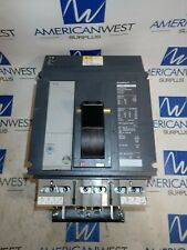 Pja36100 Square D Pja 1000 Amp 600 Volt 3 Pole Powerpact I Line Breaker Tested