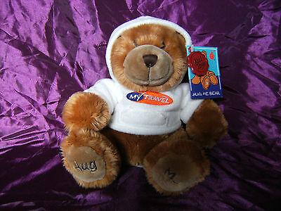 2019 Ultimo Disegno Il Mio Viaggio Hug Me Bear Orsacchiotto Da Keel Toys Con Etichette-mostra Il Titolo Originale Curare La Tosse E Facilitare L'Espettorazione E Alleviare La Raucedine