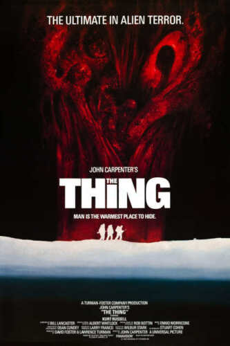 1982 THE THING VINTAGE HORROR MOVIE POSTER PRINT STYLE B 36x24 9MIL PAPER