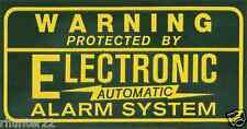 10 Security Burglar Alarm Decal  Warning Sticker Signs - FREE SHIPPING