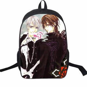 f35b8e639cae Image is loading Vampire-Knight-Kuran-Kaname-Cosplay-Shoulder-Backpack- School-