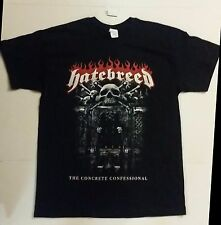 HATEBREED Concrete Confessional Mens Large *NEW* 2016 Tour Concert Band T-Shirt