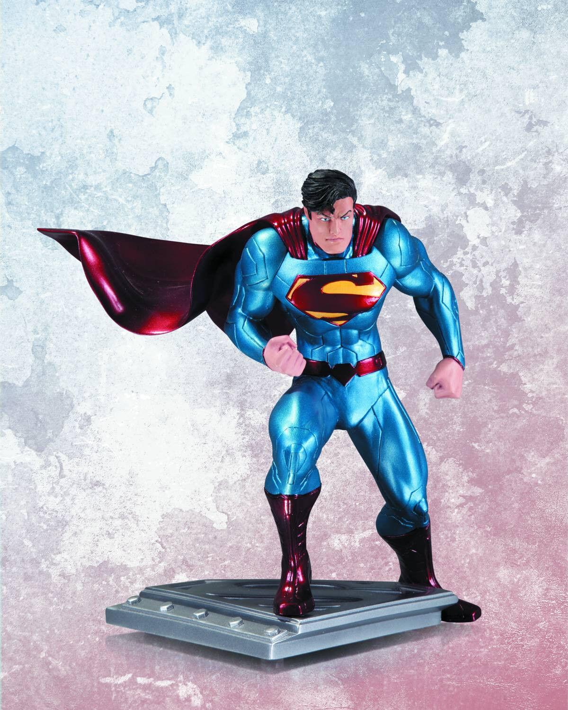 Superman  der mann aus stahl statue jim lee dc sammlerstücke