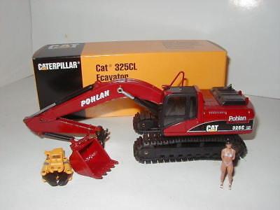 Caterpillar 325 C Ln Escavatore Cucchiaio Profondo Pohlan #515 Nzg 1:50 Ovp-mostra Il Titolo Originale