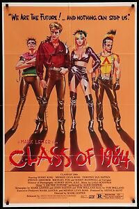 CLASS-OF-1984-Movie-Poster-27x41-MoviePoster-Horror-BMovie-Grindhouse-Punks
