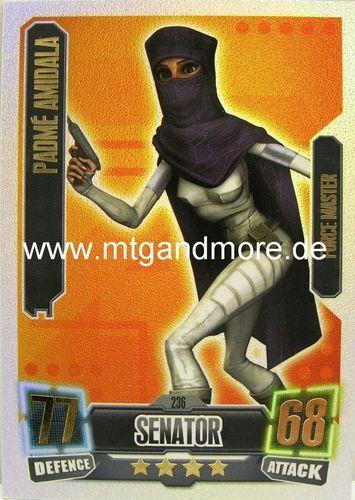 Force ATTAX série 2 padmé amidala #236 Force Master