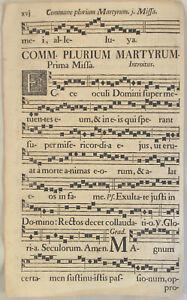 MUSIK-Noten-NEUMEN-RIESEN-Notenblatt-um-1690-Mittelalter-Lieder-singen-CHORAL