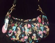 NWT Lesportsac Benefit BELLE HOBO Bag Purse RETIRED Retro 50's Pin-up Hawaii NEW