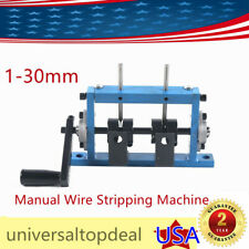 2 Blade Hand Wire Stripping Machine Cable Stripper Peeling Metal Recycle Tool